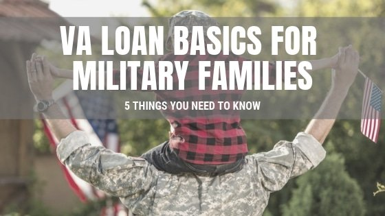 USA Veteran Holding Child - VA Loan