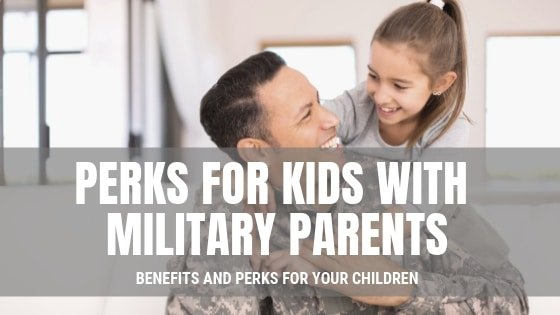 US Military dad and child