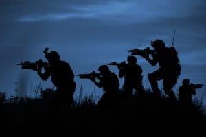 Marines at night